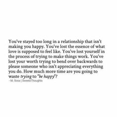 So much truth.so much sadness.I lost myself in her.to the point when she was away, I missed the abuse.this is crazy! Now Quotes, Breakup Quotes, True Quotes, Quotes To Live By, Qoutes, Smile Quotes, Favorite Quotes, Best Quotes, Under Your Spell
