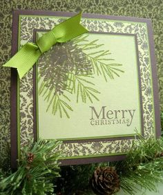 Brocade Wishes by Joan Ness - Cards and Paper Crafts at Splitcoaststampers