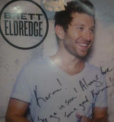 Yup, my autographed poster! ;)