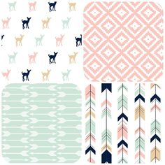 Design Your Own Pink Tan Navy and Mint Brave by myfrecklesshop