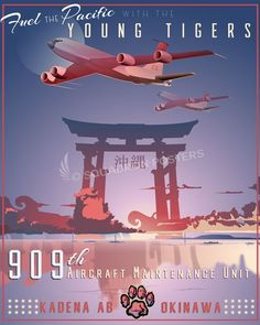 Share Squadron Posters for a 10% off coupon! Kadena AB 909th Aircraft Maintenance Unit #http://www.pinterest.com/squadronposters/