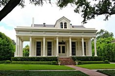 beautiful full length windows and railing-less porch
