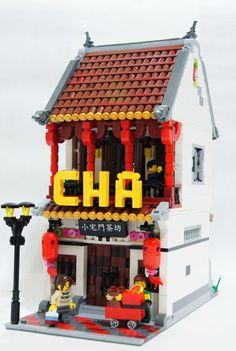 Lego Ninjago City, Lego City, Lego Design, Modular Design, Lego Building Blocks, Lego Craft, Lego Mechs, Lego Trains, Lego Modular