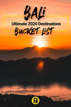 The ultimate list of things to do in Bali. A complete 2020 guide. Borneo Travel, Malaysia Travel, Thailand Travel, Japan Travel, Bali Travel Guide, Travel Tips, Stuff To Do, Things To Do, Maldives Travel
