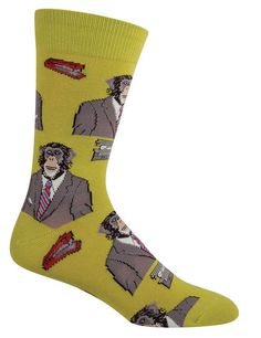 We've got a huge selection of fun and funky novelty socks for men, with everything from stylish dress socks for work to funny and sarcastic socks! Cool Socks For Men, Unique Socks, Funky Socks, Crazy Socks, Dress Socks, Men's Socks, Ankle Shoes, Sock Animals, Novelty Socks