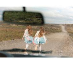 Erna and Hrefna Identical twins