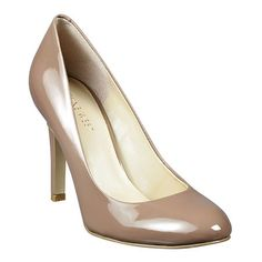 """As seen in the May issue of Better Homes  Garden.....Classic round toe pump. 3 1/2"""" heel."""