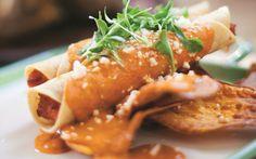 Enchiladas de camote