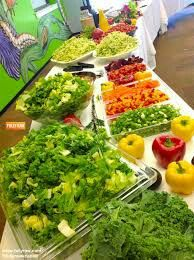 Now THAT'S a salad bar!