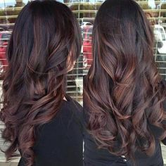 Dark brown red highlights                                                                                                                                                                                 More