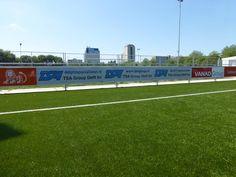 Forum Sport uit Voorburg is ook voorzien van de reclamebord ophangprofielen van SKWshop.