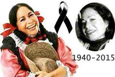 RIP Maria Elena Velasco (La India Maria)