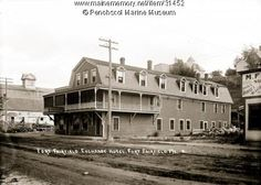 Fort Fairfield Exchange Hotel, ca. Northern Maine, New Brunswick, Old Pictures, Main Street, War, River, Mansions, History, House Styles