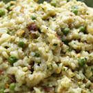 Risotto with Peas and Pistachios