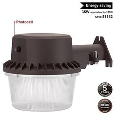 This #LED #Outdoor #Barn #Light is energy efficient, so you can save money on the cost of product. The #LEDlight has 35W low consumption, but it can replace 250W incandescent, which means that you can save $1,182.5 on energy bill in its long lifespan.
