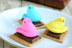 Peeps s'mores - 15 Easter Crafts, Activities, and Treats for Kids I Easter Ideas for Kids - ParentMap