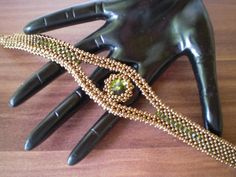 My Pattern '' JAY ''  http://www.etsy.com/listing/105234420/anleitung-pattern-armband-jay