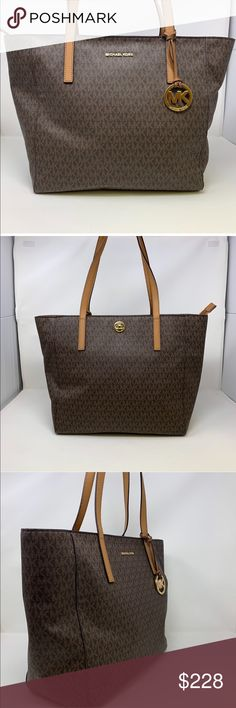 276eb9b0a9d4 Michael Kors Signature Rivington Extra-Large Tote Feel some designer love  with the MICHAEL Michael