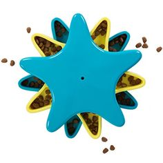 Outward Hound 41005 Star Spinner Treat Toy Dog Toys Scent Puzzle Training Toy, Large, Blue Outward Hound http://www.amazon.com/dp/B00440D8GU/ref=cm_sw_r_pi_dp_lpHFvb1X3BCA0