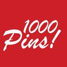 1000 Pins!