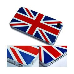 British Flag English Flag National Flag Hard Case Cover For Apple... (2.27 AUD) ❤ liked on Polyvore featuring accessories, tech accessories and phone cases