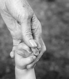 """Grandmas hold our tiny hands for just a little while....but our hearts forever."""
