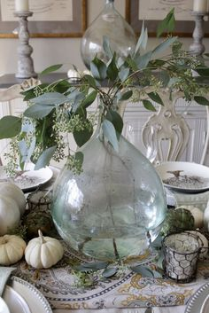 Elegant Fall Tablesc