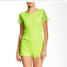 Nwt Romeo and Juliet Couture lace romper no trades No flaws new length 30 bust is 17 Romeo & Juliet Couture Other