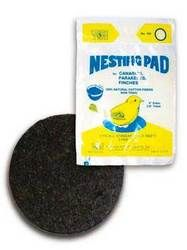 Prevue Pet Products - Nesting Pad 2 PackFelt nesting pads fit most nests and are great for canaries, finches and parakeets  2 Pk