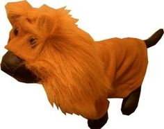 Lion King Pet Costume *Small* from masterpet --- Buy it securely online from BuyDogSweaters.com.