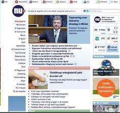 1/5 goede websites. - duidelijke indeling - gemakkelijk met zoeken - overzichtelijk - straalt rust uit in de hectiek met informatie - zelfde stijl