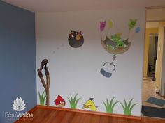 Decoración angry birds