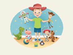 Playtime In Andy's Room by Jerrod Maruyama