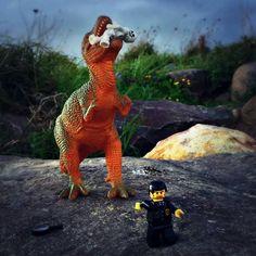 Run for the hills... #lego #legominifigures #legostagram #legophotography #legomania #legogram #legophoto #legoart #legominifigure #legography #bricks #brickslego #toy #toys #toyphotography #toycommunity #toystagram #toyslagram #toyslagram_lego #toyartistry #toyrevolution #toyhumor #toyart #dinosaur #nature #naturelovers #thames #thamesnz #newzealand by michelleaitcheson