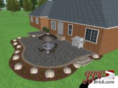 Brick Patio Design in Bruce Twp., MI