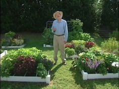 Click To Watch This Video From The Author Of Square Foot Gardening Mel Bartholomew