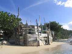 Bomba's Seaside Shack - Tortola, BVI - have fun and dance on the sand!