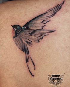 Bird tattoo art , freedom tattoo