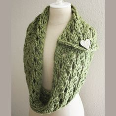 Margeaux Lace Cowl / Scarf Knitting Pattern – Phydeaux Designs & Fiber