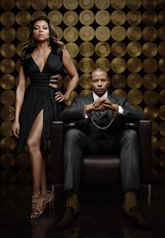 EXCLUSIVE UHQ !!  Season 2 Promo shoot || Taraji P. Henson as Cookie Lyon and Terrence Howard as Lucious Lyon