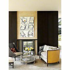 McGuire Furniture: Barbara Barry Lunette Sofa: No. C 65