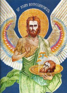 Sfantul Ioan Botezatorul Nicu, Religion, Spirituality, Princess Zelda, Fictional Characters, Art, Paintings, Art Background, Paint