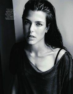 Charlotte Casiraghi by Mario Testino