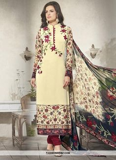 Buy online shopping salwar kameez at - Banglore. Pakistani Salwar Kameez, Churidar Suits, Anarkali Churidar, Pakistani Suits, Kurti, Daily Fashion, Fashion Tips, Fashion Trends, Plus Size Swimsuits
