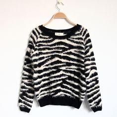 $25 Zebra Sweater