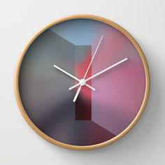 The Focus Wall Clock by Stancu Digital Art - $30.00
