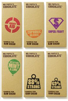 DzineGeek: Showcase of Chocolate Packaging Chocolate Brands, Love Chocolate, Cool Packaging, Packaging Design, Product Packaging, Chocolates, Chocolate Packaging, How To Attract Customers, Raw Cacao