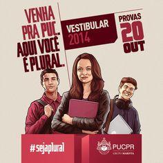Blog do Vestiba PUCPR | Vestibular de Verão 2014 #sejaplural