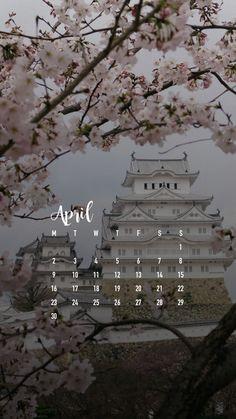 April 2018 Smartphone Wallpaper Calendar Download