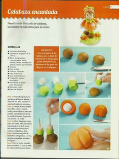 MIS REVISTAS PARA REPOSTERIA: LETICIA SUAREZ DEL CERRO (2013-Nº6) Polymer Clay Disney, How To Make Clay, Porcelain Clay, Pasta Flexible, Clay Crafts, Cake Toppers, Cake Decorating, Decorating Ideas, Biscuits